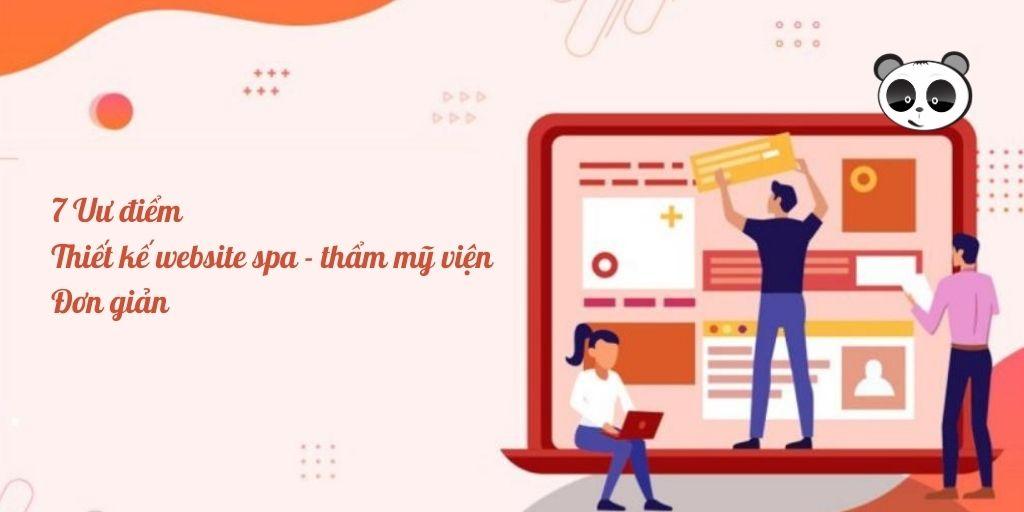 thiết kế website spa đơn giản
