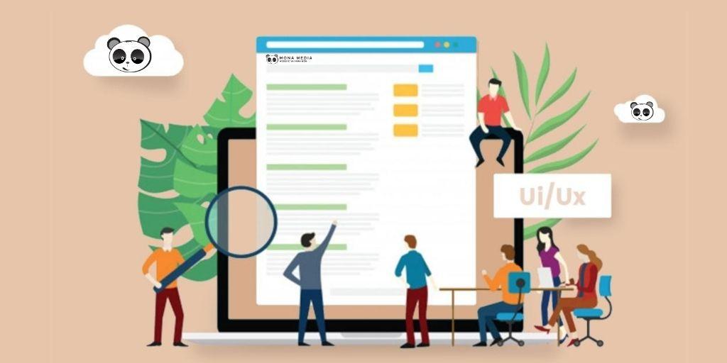 kinh nghiệm thiết kế giao diện web spa chuẩn UI/ UX