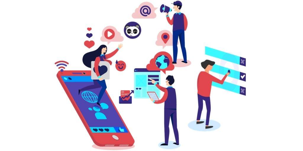Thiết kế website spa kết hợp Social Media