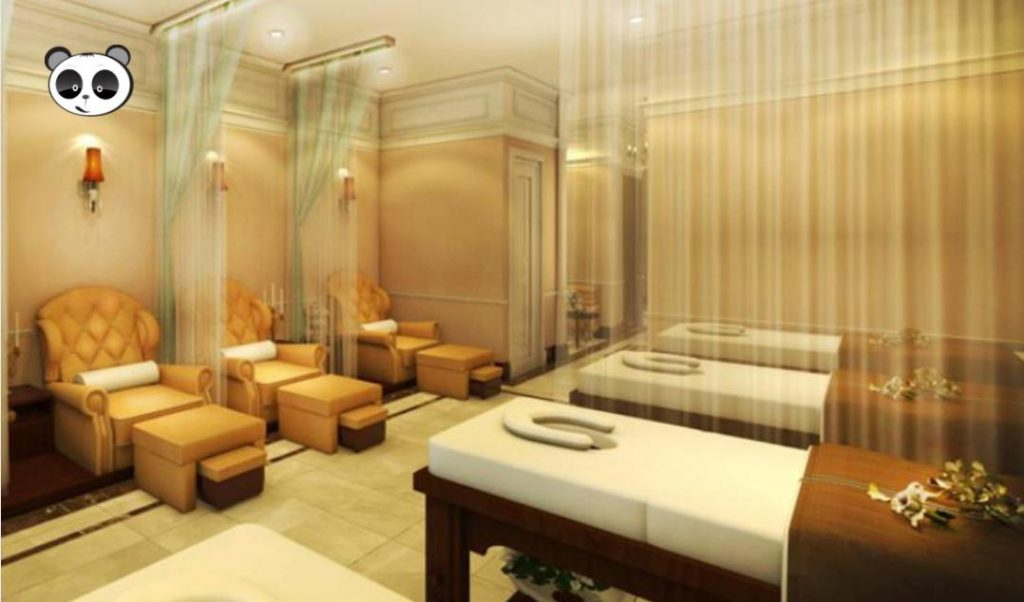 Phong cách thiết kế spa hiện đại